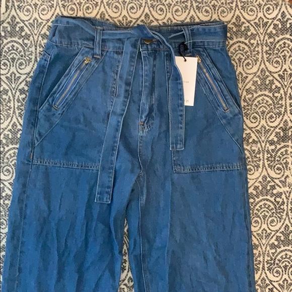 Forever 21 Denim - Forever 21 wide leg pants